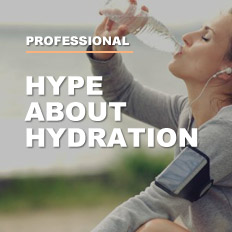 Hype about Hydration