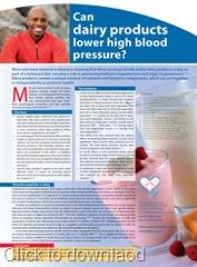 Dairy & hypertension ad