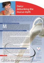 Debunking mucus myth