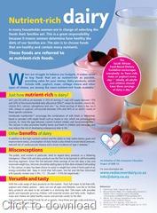 Nutrient-rich dairy Ad
