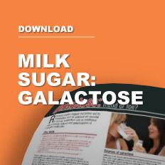 Milk Sugar - Galactose